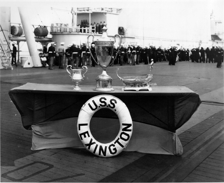USS Lexington (CV-2/CV-16) Collection